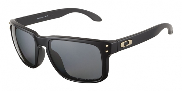 Oakley Holbrook Black And Gold