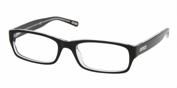 RALPH RA7018 » BLACK/TRANSPARENT